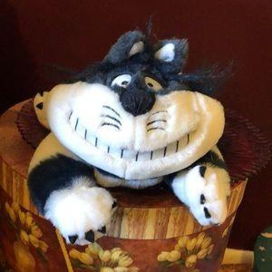 "Disney Cheshire Cat large 18"" plush"